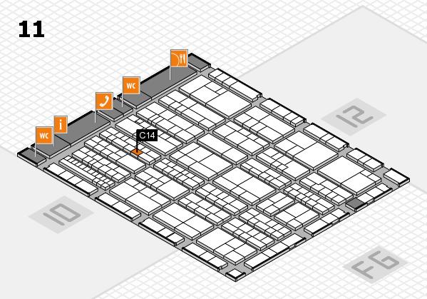 K 2016 Hallenplan (Halle 11): Stand C14