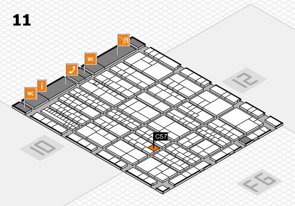 K 2016 Hallenplan (Halle 11): Stand C57