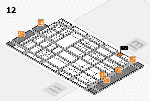 K 2016 Hallenplan (Halle 12): Stand F17
