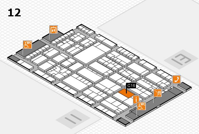 K 2016 Hallenplan (Halle 12): Stand C16