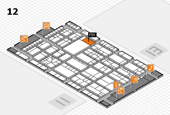 K 2016 Hallenplan (Halle 12): Stand F56