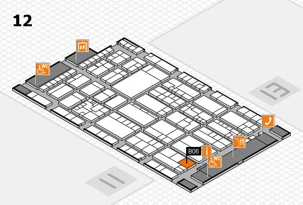 K 2016 Hallenplan (Halle 12): Stand B06