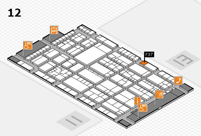 K 2016 Hallenplan (Halle 12): Stand F37
