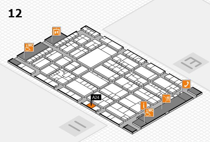 K 2016 Hallenplan (Halle 12): Stand A24