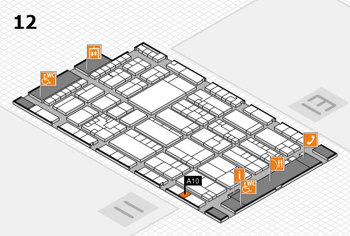 K 2016 Hallenplan (Halle 12): Stand A10