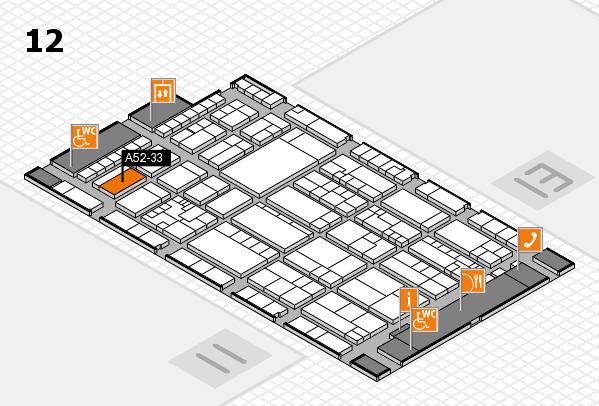 K 2016 Hallenplan (Halle 12): Stand A52-33
