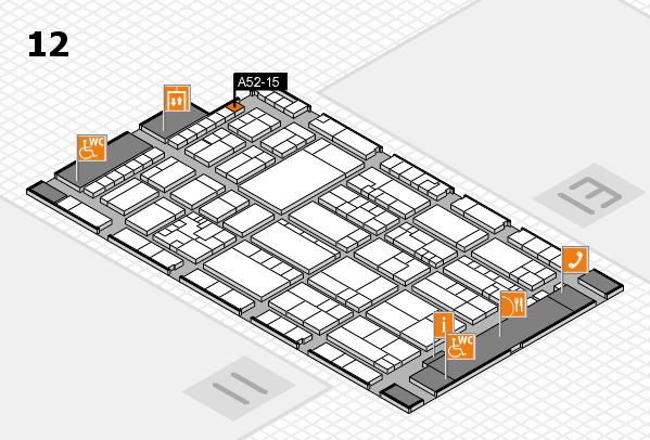 K 2016 Hallenplan (Halle 12): Stand A52-15