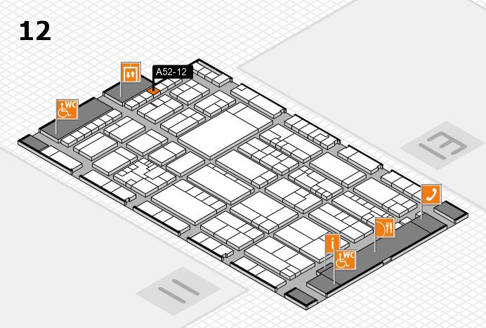 K 2016 Hallenplan (Halle 12): Stand A52-12