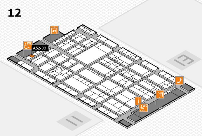 K 2016 hall map (Hall 12): stand A52-03