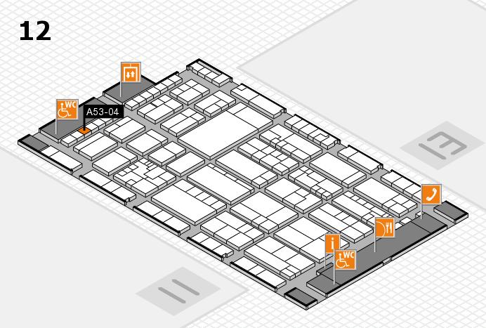 K 2016 Hallenplan (Halle 12): Stand A53-04