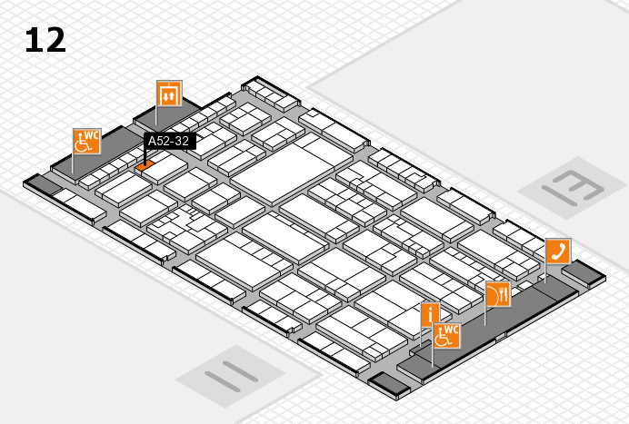K 2016 Hallenplan (Halle 12): Stand A52-32
