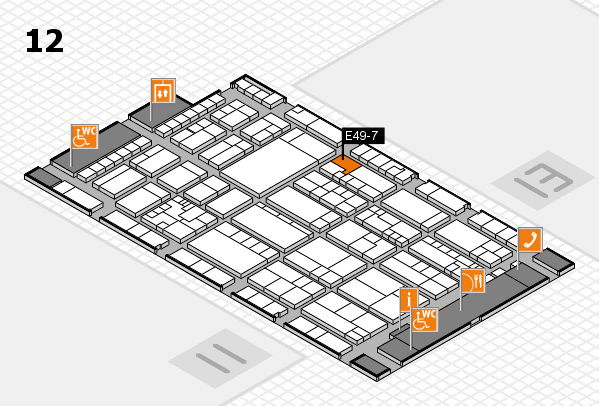 K 2016 Hallenplan (Halle 12): Stand E49-7