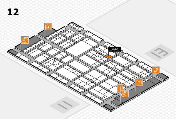 K 2016 Hallenplan (Halle 12): Stand E49-5