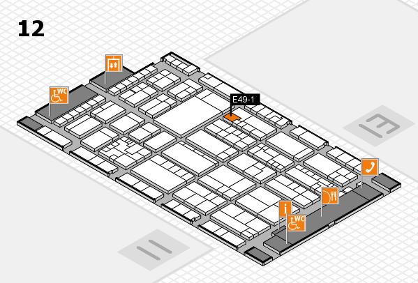 K 2016 Hallenplan (Halle 12): Stand E49-1