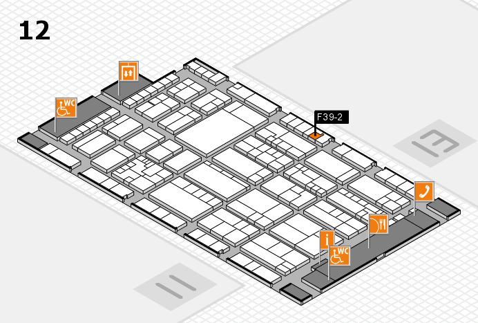 K 2016 Hallenplan (Halle 12): Stand F39-2