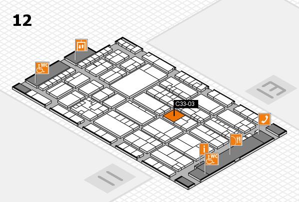 K 2016 Hallenplan (Halle 12): Stand C33-03