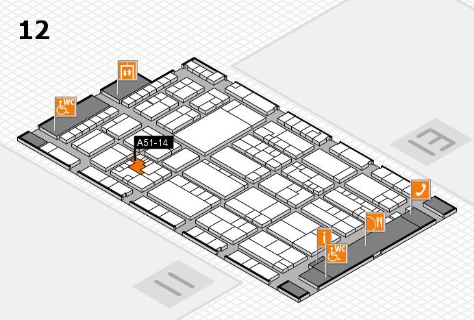 K 2016 Hallenplan (Halle 12): Stand A51-14