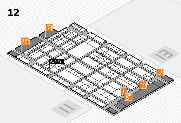 K 2016 Hallenplan (Halle 12): Stand A51-13