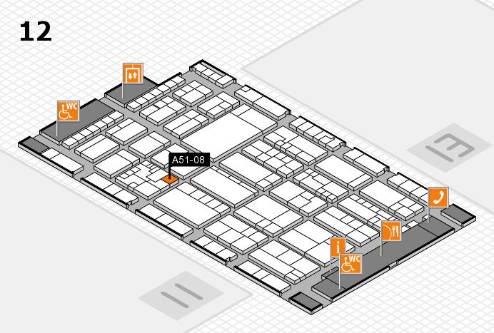K 2016 Hallenplan (Halle 12): Stand A51-08