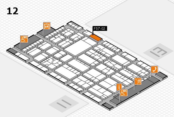 K 2016 Hallenplan (Halle 12): Stand F57-02