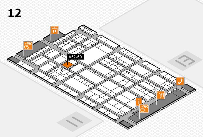 K 2016 Hallenplan (Halle 12): Stand A52-50