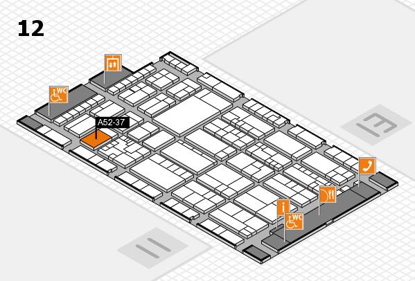 K 2016 Hallenplan (Halle 12): Stand A52-37