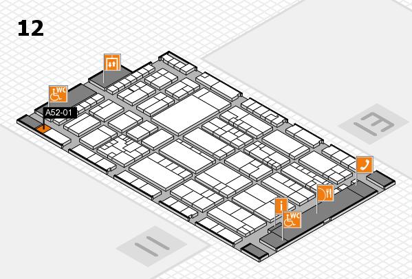 K 2016 Hallenplan (Halle 12): Stand A52-01