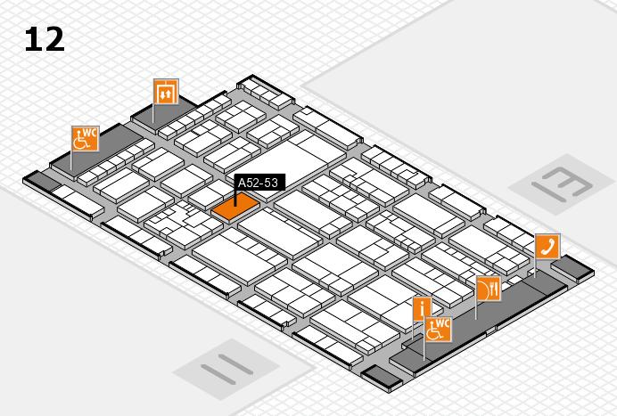 K 2016 Hallenplan (Halle 12): Stand A52-53