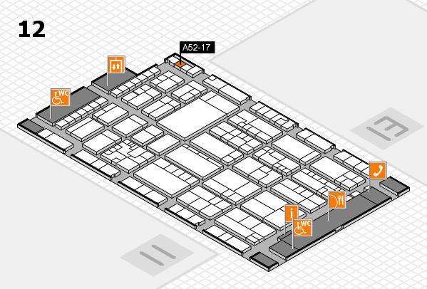 K 2016 Hallenplan (Halle 12): Stand A52-17