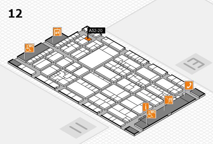K 2016 Hallenplan (Halle 12): Stand A52-20