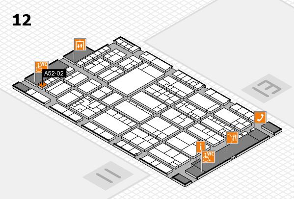 K 2016 Hallenplan (Halle 12): Stand A52-02