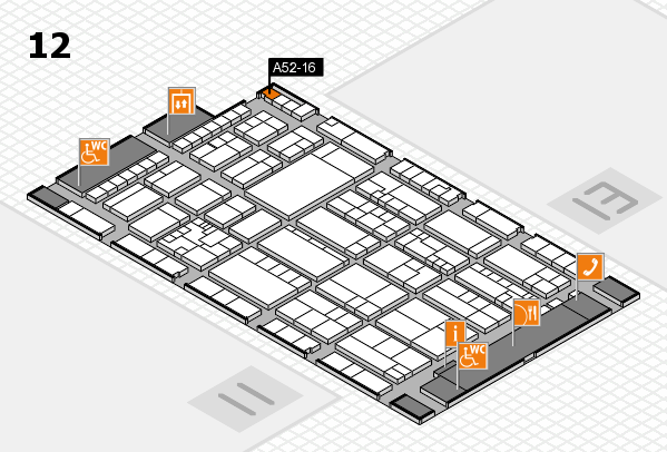 K 2016 Hallenplan (Halle 12): Stand A52-16