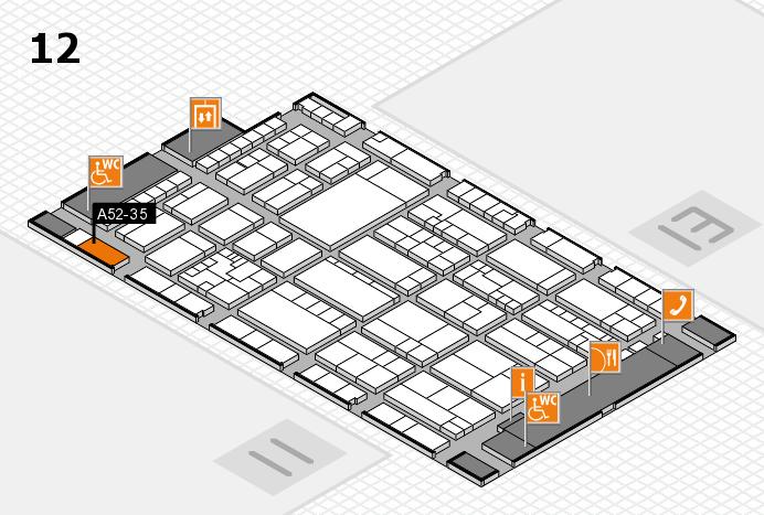 K 2016 Hallenplan (Halle 12): Stand A52-35