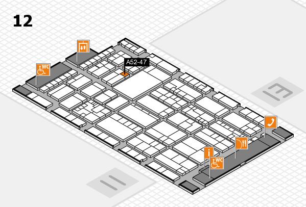 K 2016 Hallenplan (Halle 12): Stand A52-47