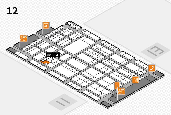 K 2016 Hallenplan (Halle 12): Stand A51-04