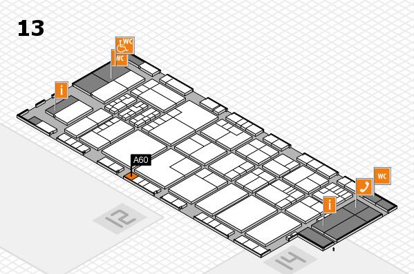 K 2016 Hallenplan (Halle 13): Stand A60