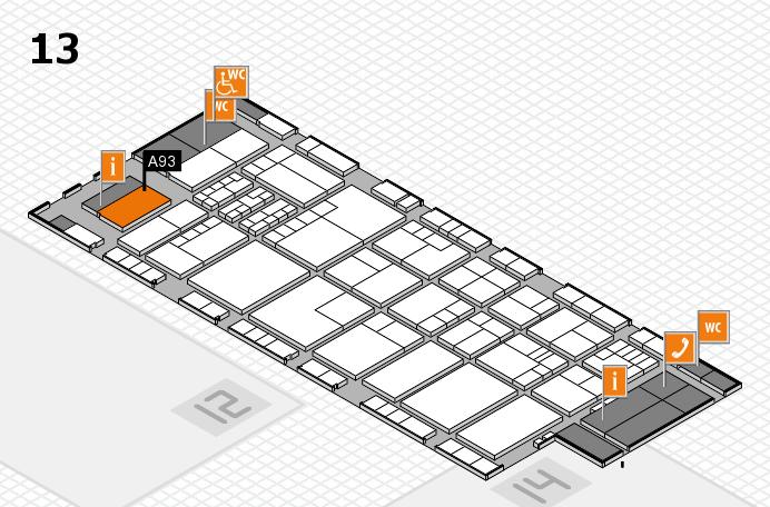 K 2016 Hallenplan (Halle 13): Stand A93