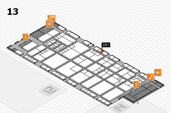 K 2016 Hallenplan (Halle 13): Stand D51