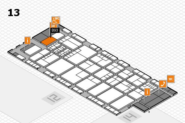 K 2016 Hallenplan (Halle 13): Stand B93