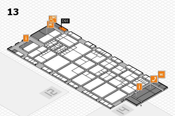 K 2016 Hallenplan (Halle 13): Stand D93