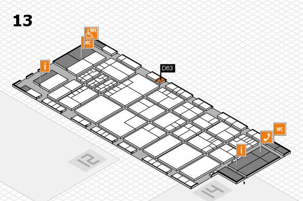 K 2016 Hallenplan (Halle 13): Stand D63