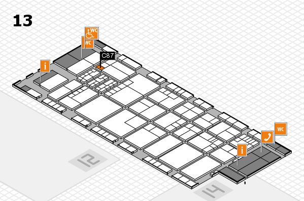 K 2016 Hallenplan (Halle 13): Stand C87