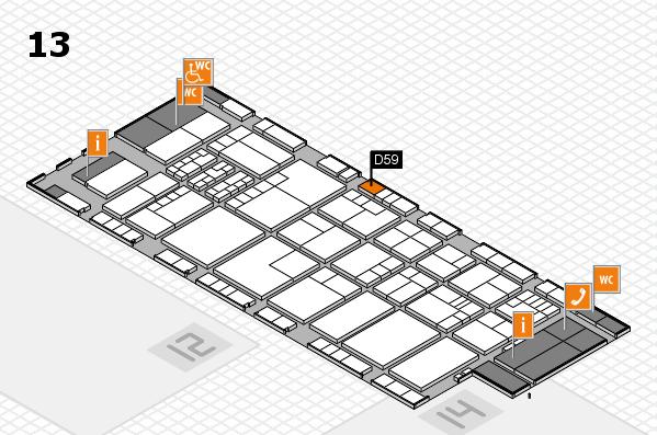 K 2016 Hallenplan (Halle 13): Stand D59