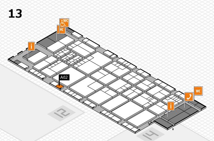 K 2016 Hallenplan (Halle 13): Stand A62