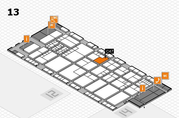 K 2016 Hallenplan (Halle 13): Stand C47