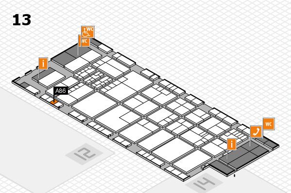 K 2016 Hallenplan (Halle 13): Stand A86