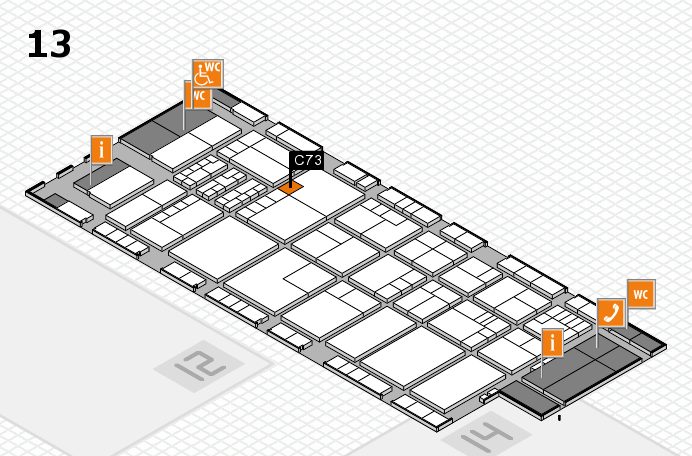 K 2016 Hallenplan (Halle 13): Stand C73