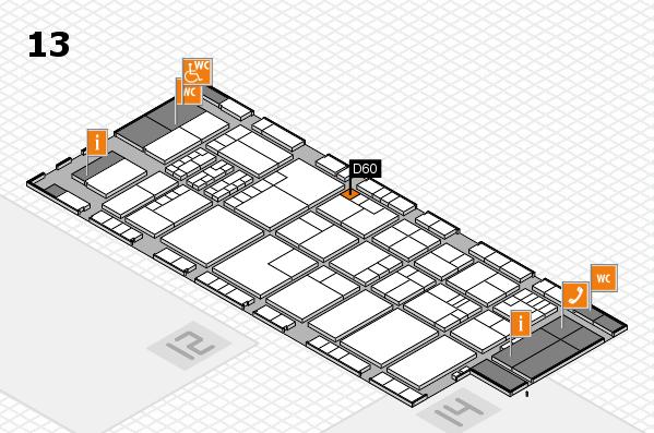 K 2016 Hallenplan (Halle 13): Stand D60