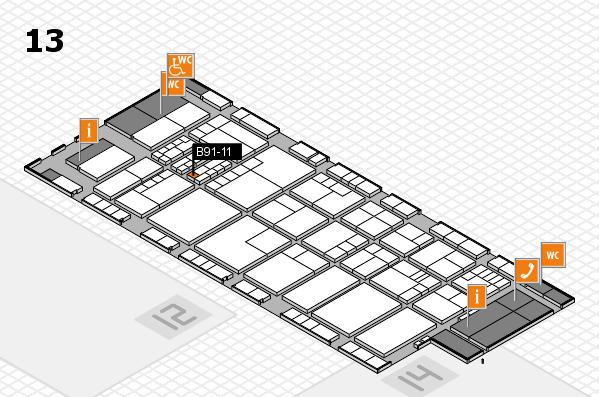 K 2016 Hallenplan (Halle 13): Stand B91-11
