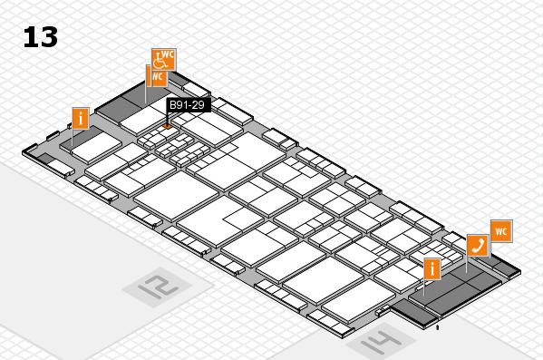 K 2016 Hallenplan (Halle 13): Stand B91-29